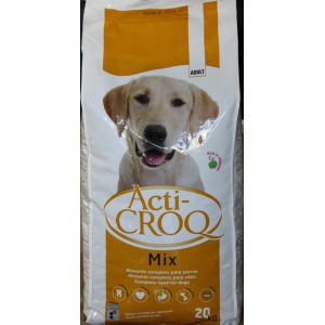 Acti Croq Mix para perros 20kg