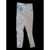 Pantalón de mujer blanco talla 44