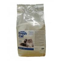 Arena Aglomerante White Fresh Cat 100 % bentonita