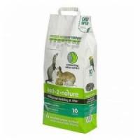 Pack 3 unidades Back2Nature Lecho Higiénico Ecológico Mascotas Peq. 10L