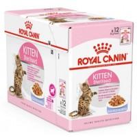 FHN Wet Kitten Sterilised Jelly 85gr (12uds)