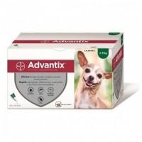 Pipetas Advantix para perros hasta 4 kg