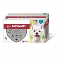Pipetas Advantix para perros de 4 hasta 10 kg