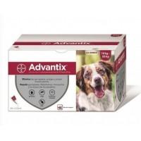 Pipetas Advantix para perros de 10 hasta 25 kg